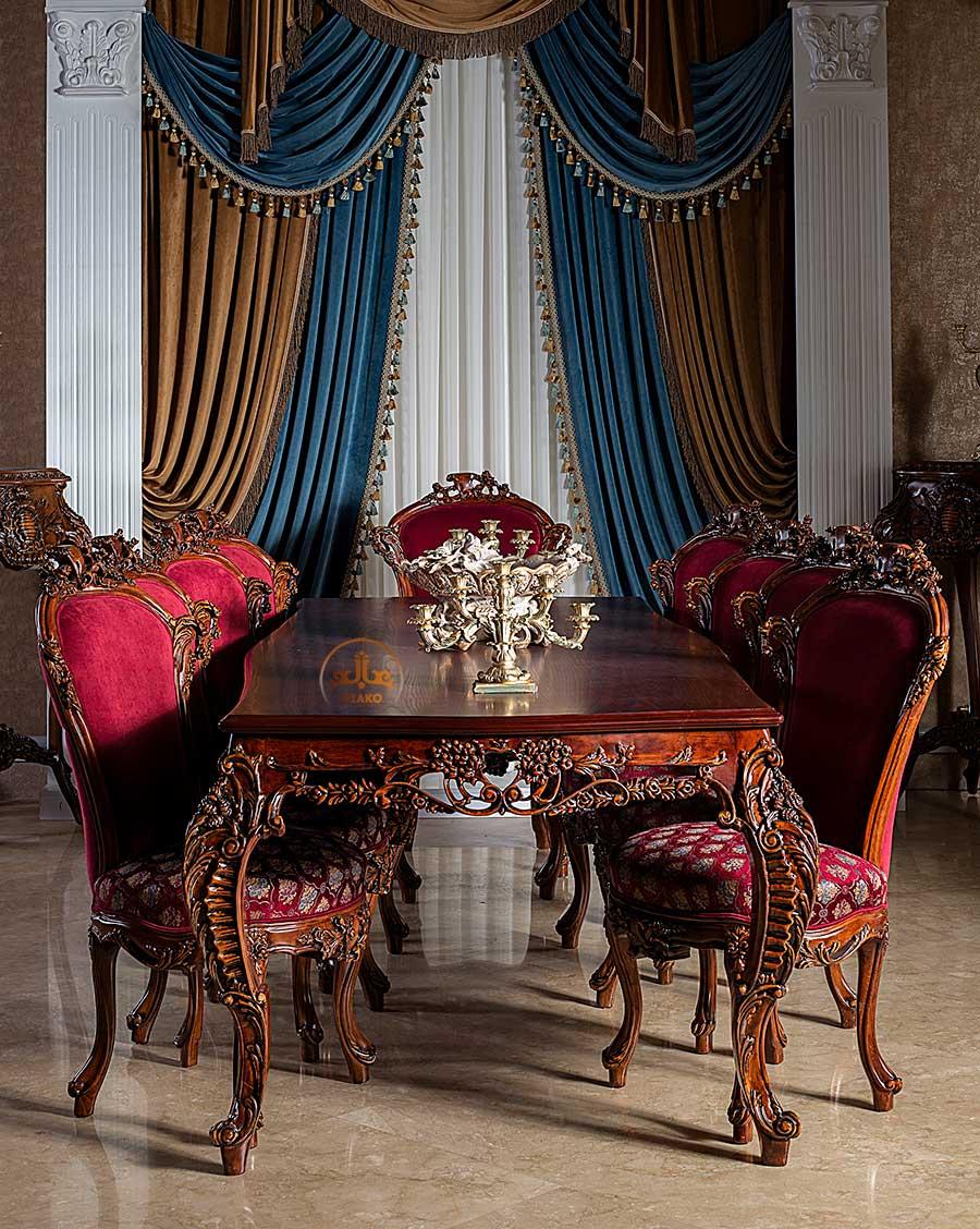 میز و صندلی غذاخوری آرمانت