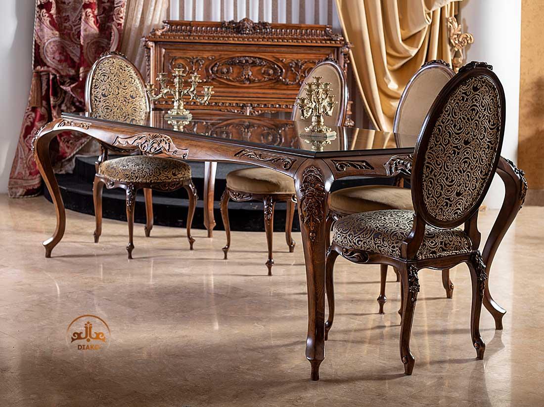 میز فرانسوی ویاسینا