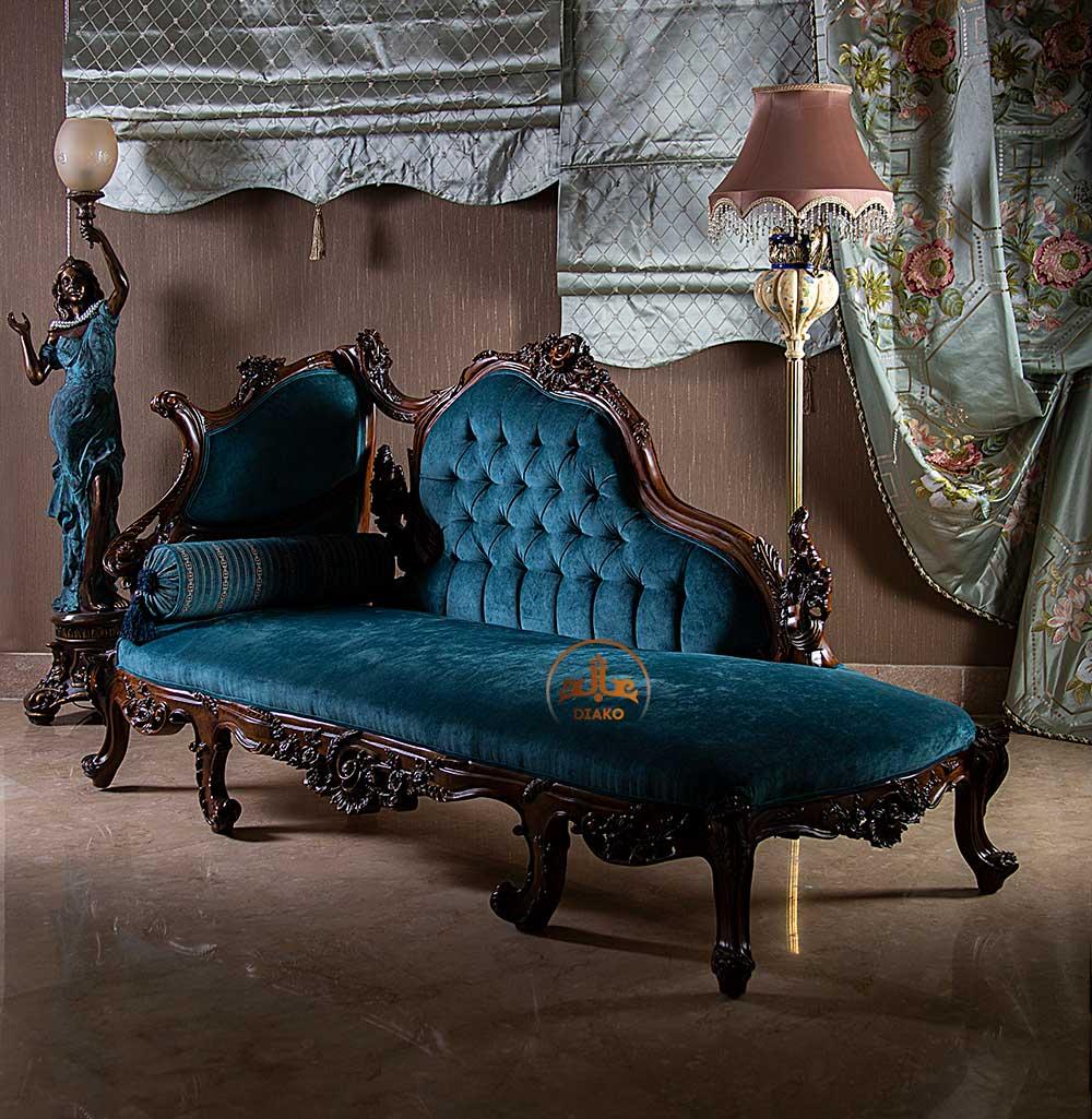 شزلون آبی کلاسیک