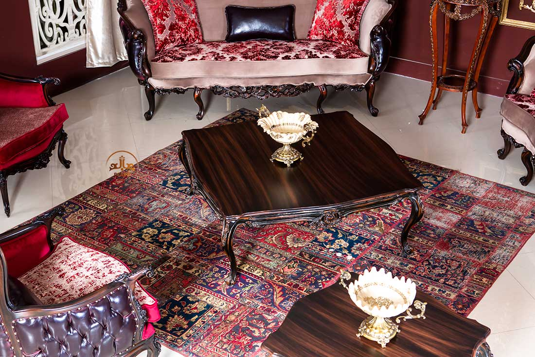 میز جلومبلی کلاسیک