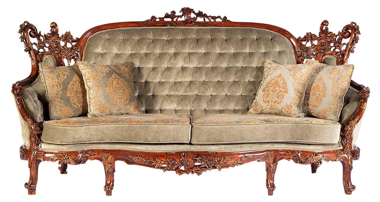کاناپه مبل آرمانت با رنگ سبز