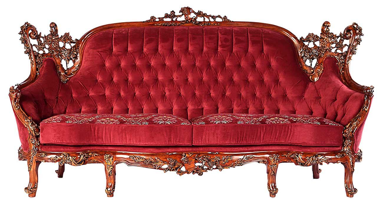 کاناپه مبل آرمانت با رنگ قرمز