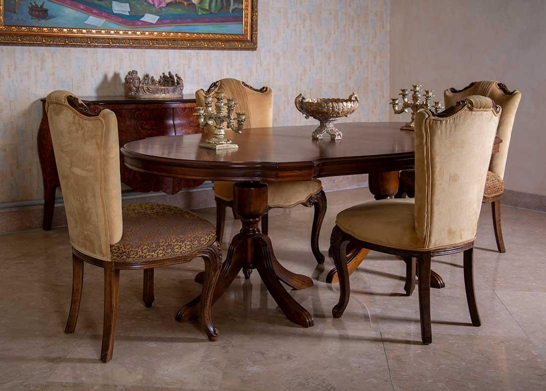 میز و صندلی غذاخوری کمل بک