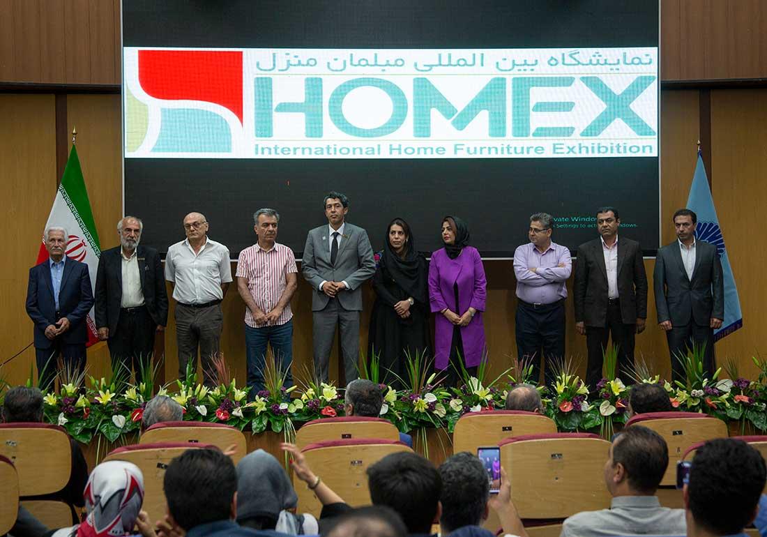 تصویر هیئت داوران و ارزیابان نمایشگاه مبلمان تهران