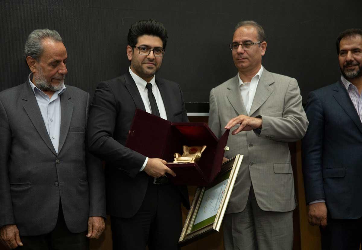 کسب مقام اول در نمایشگاه بین المللی مبلمان تهران