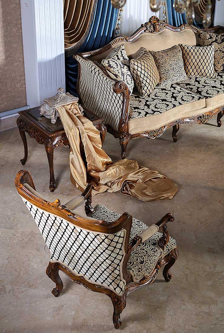 صندلی دسته دار و کاناپه میلواکی