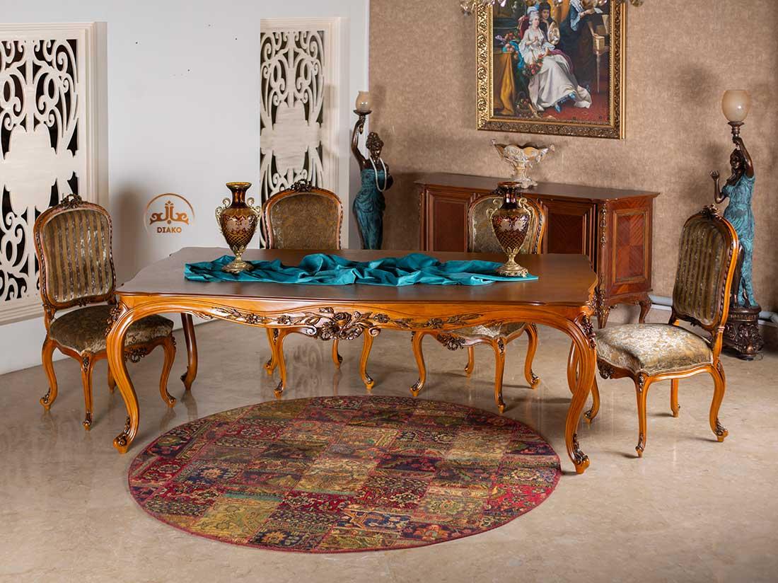 میز فرانسوی لیون