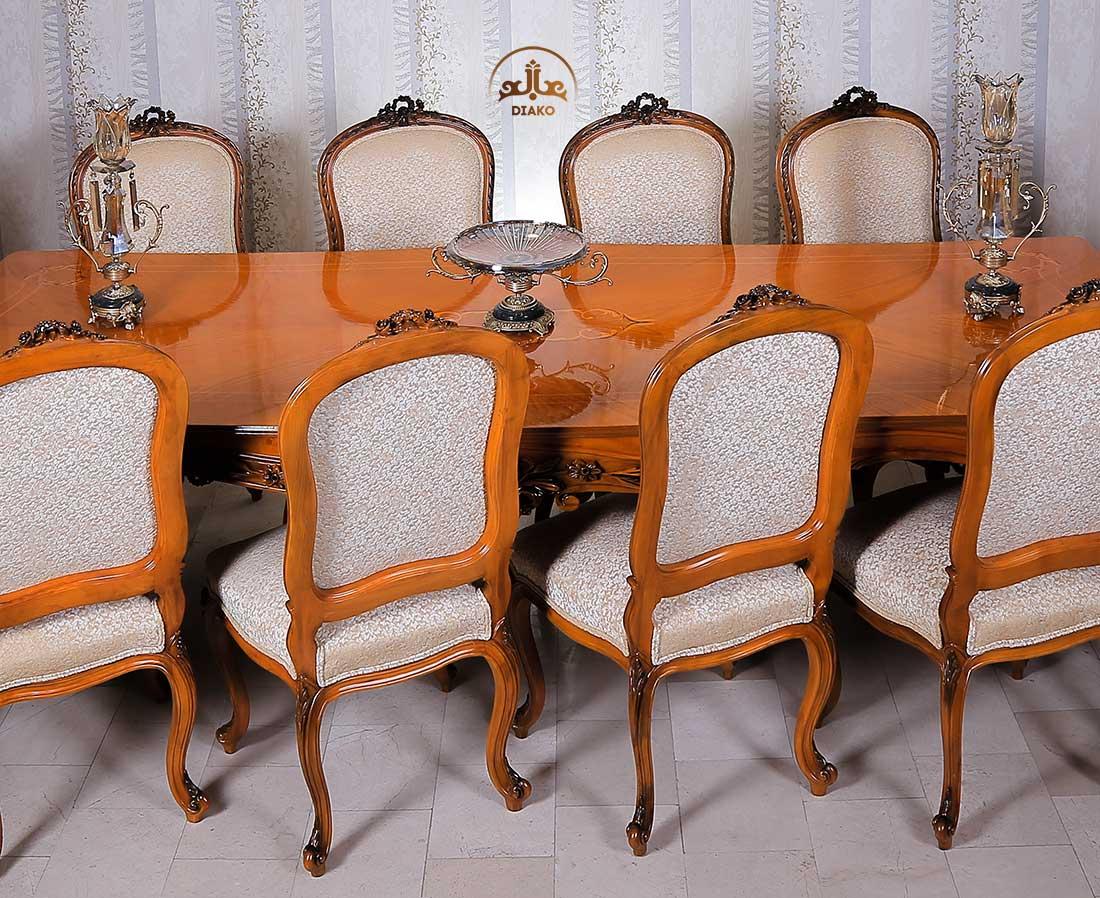 میز معرق فرانسوی