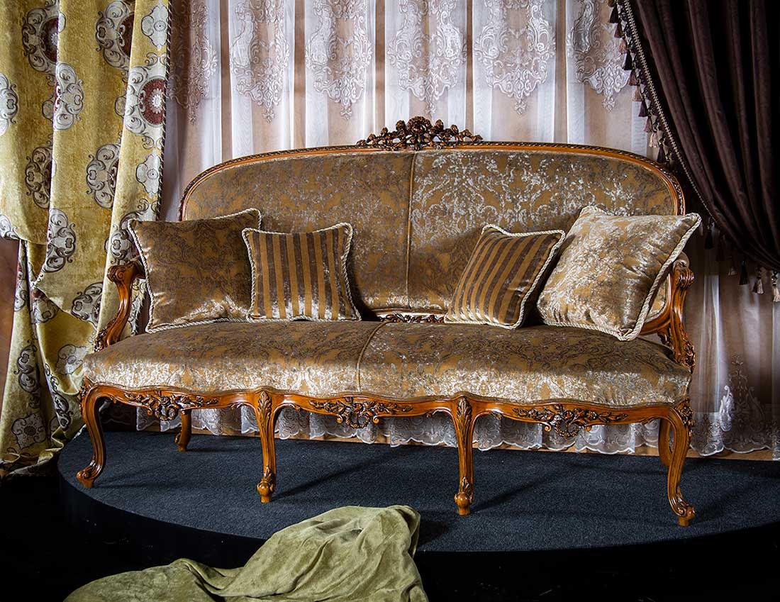 کاناپه مبل فرانسوی لیون