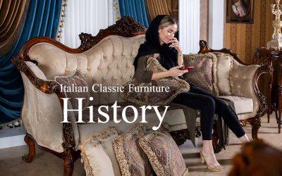 تاریخچه مبلمان کلاسیک ایتالیایی | سبک روکوکو و باروک در مبل ایتالیا