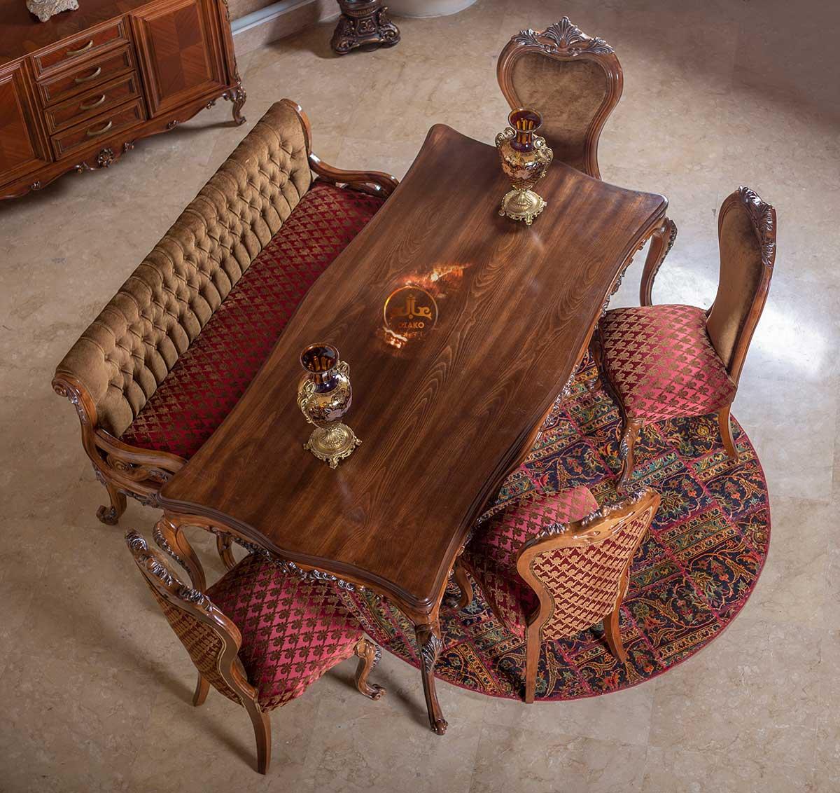 میز 8 نفره کلاسیک استلا