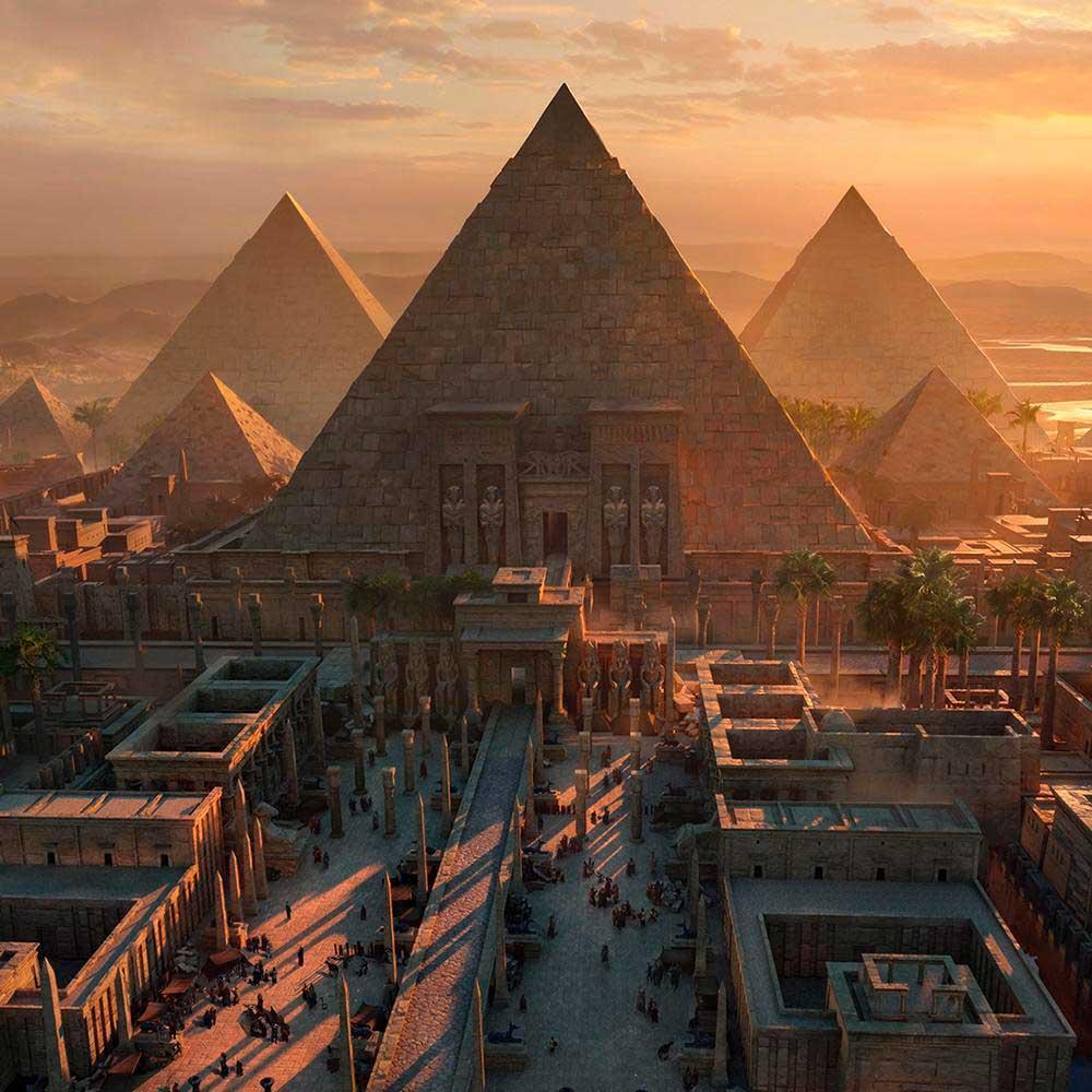 مبلمان در مصر باستان