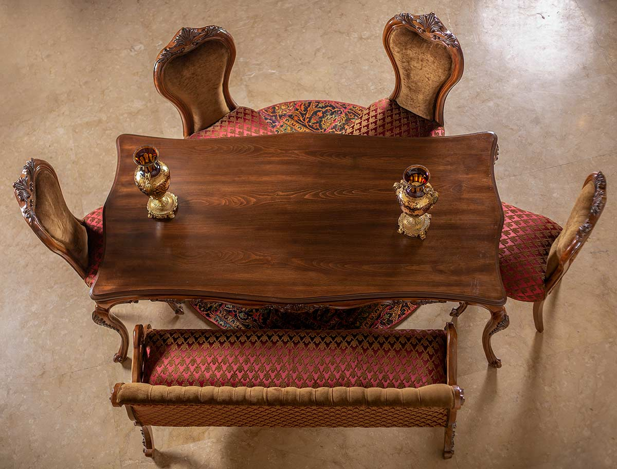 میز و صندلی غذاخوری استلا