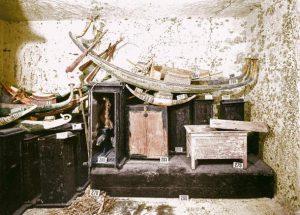 اثاثیه کشف شده از مقبره فرعون