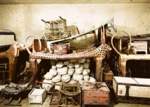 اثاث کشف شده از مقبره توت عنخ آمون