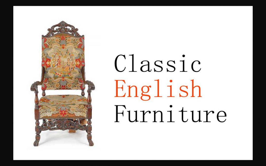 مبل کلاسیک انگلیسی