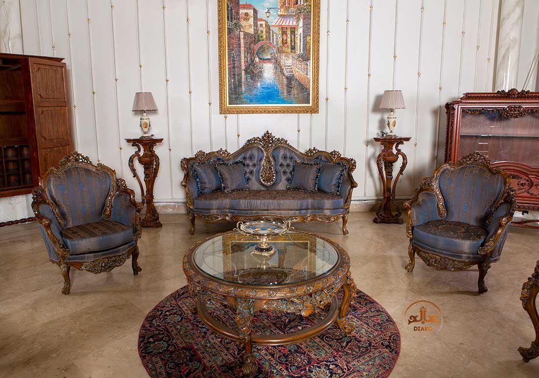 مبل و کاناپه فرانسوی رزالین