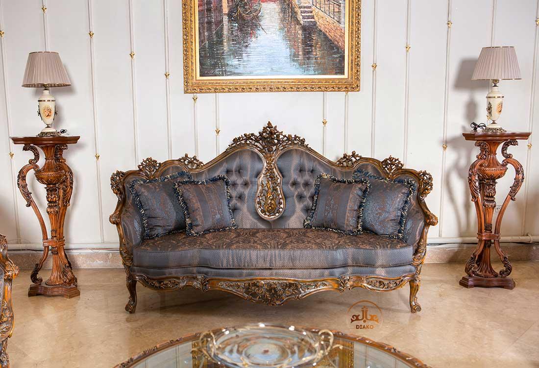 کاناپه سلطنتی فرانسوی رزالین