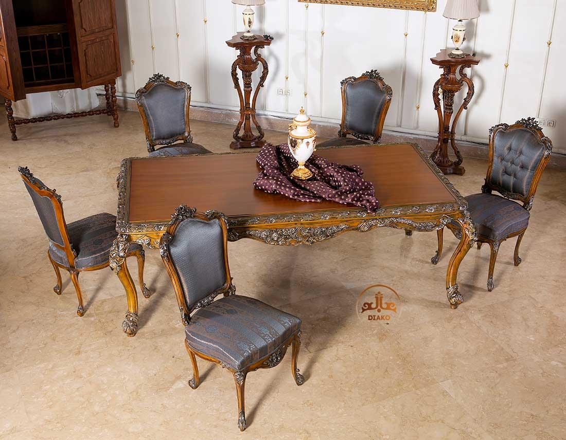 میز غذاخوری سلطنتی رزالین
