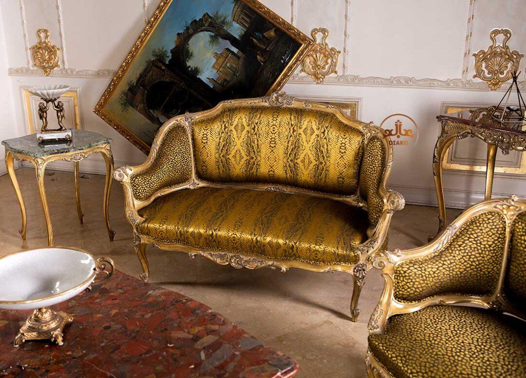 کاناپه فرانسوی لوییز