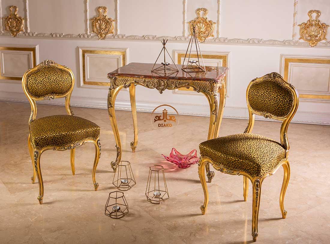 صندلی و میز فرانسوی