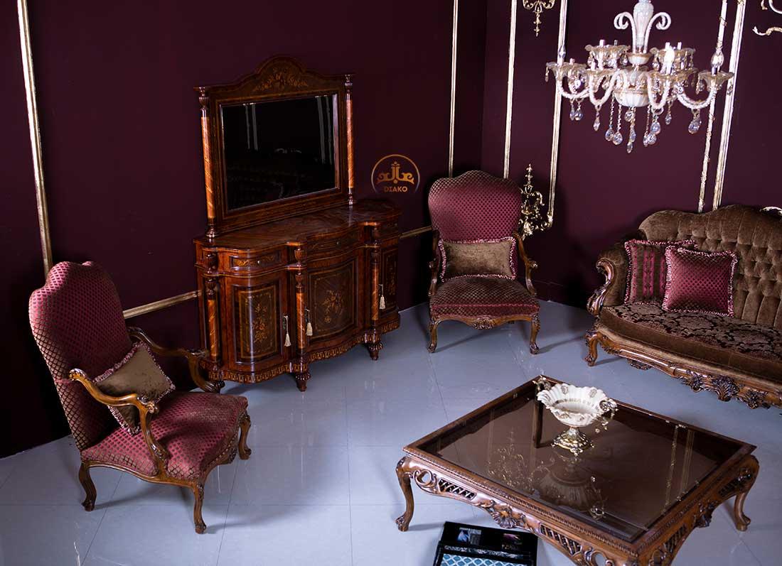 بوفه آینه سلطنتی کاپری