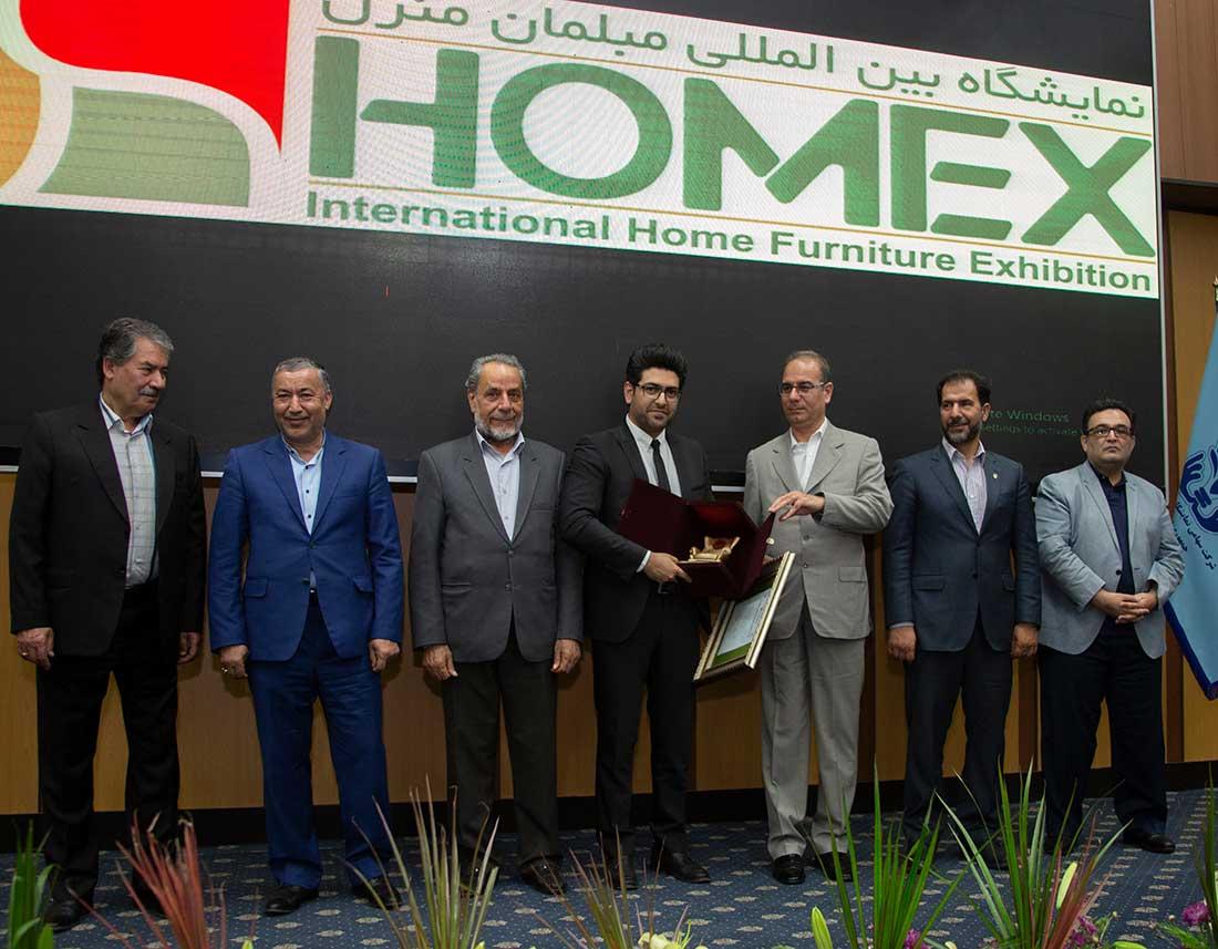 مقام اول برند برتر مبلمان کلاسیک در ایران