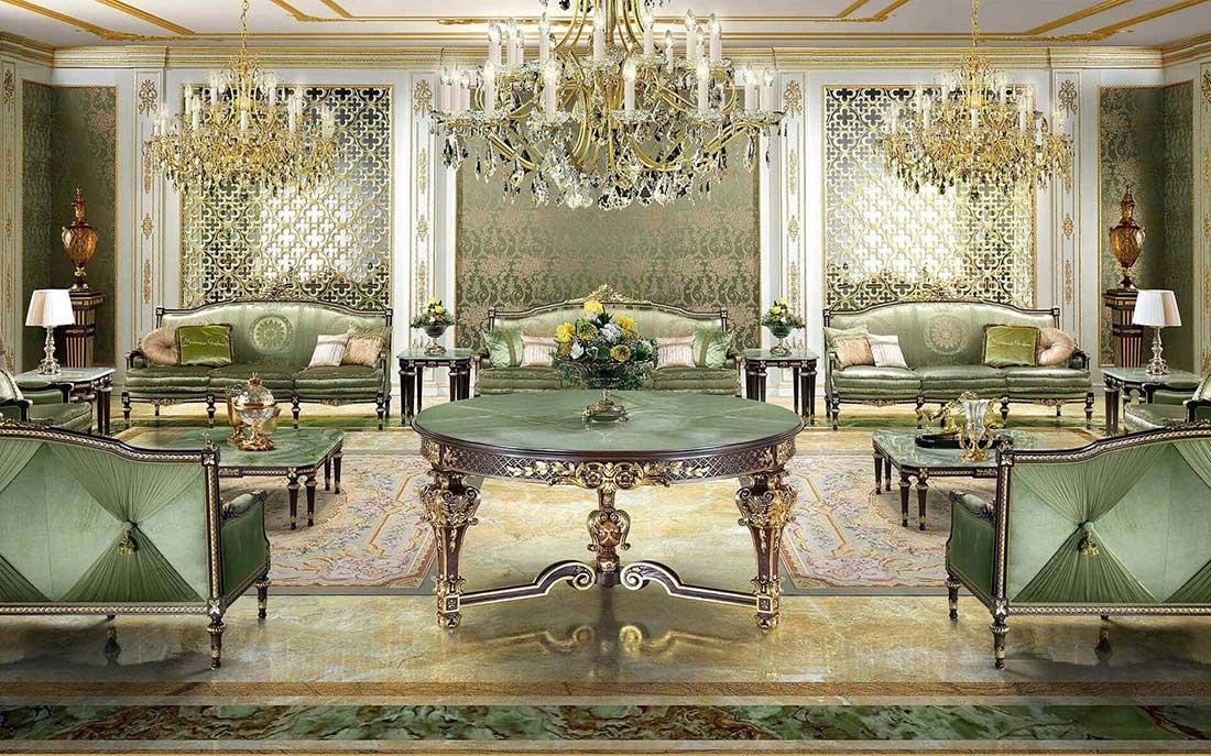 مبلمان کلاسیک برند مودنس ایتالیا