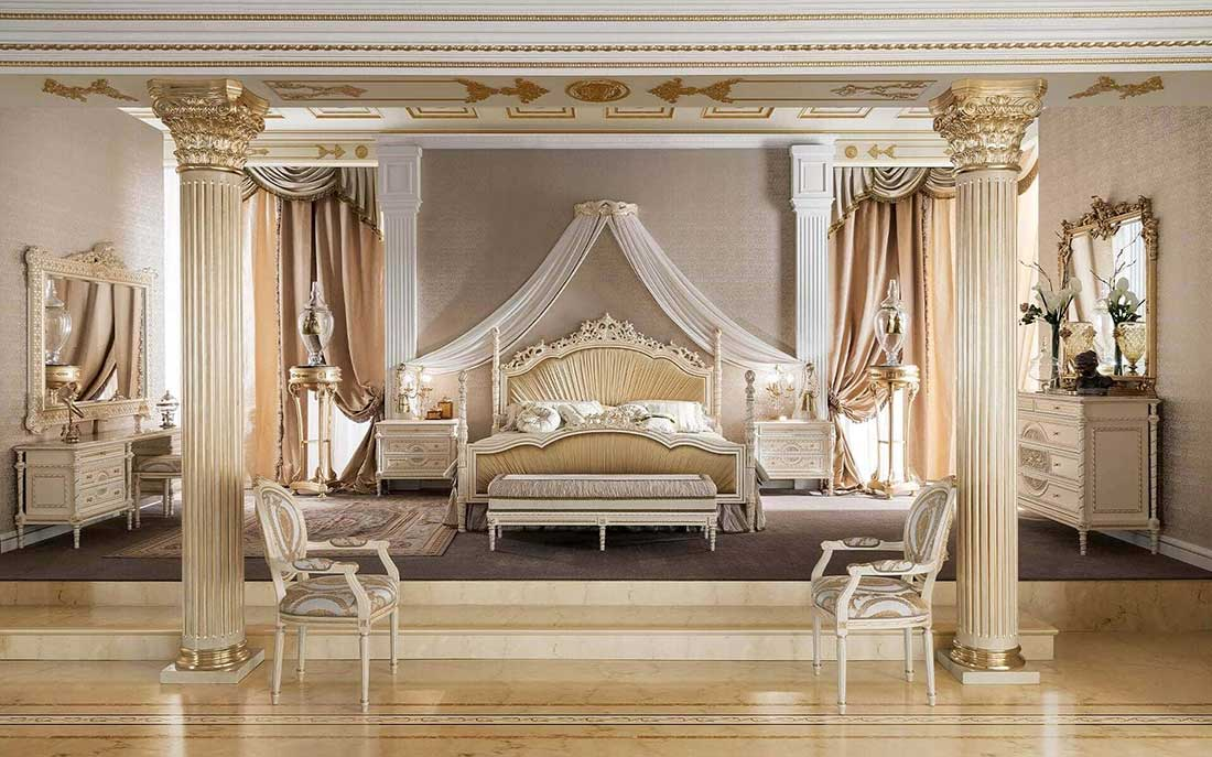 سرویس خواب سلطنتی برند مودنس ایتالیا